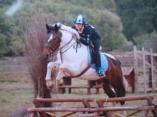 Bobbie Tunbridge and Duchess at Windsor Sponsored Ride!